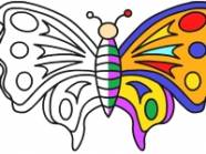 Butterfly Coloring darmowa gra
