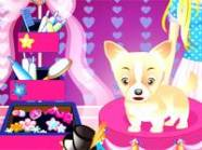 Barbie and cute dog darmowa gra